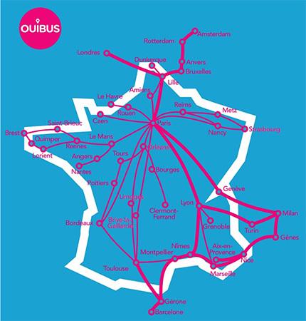 Ouibus remplace idbus lancement de nouvelles lignes for Interieur ouigo