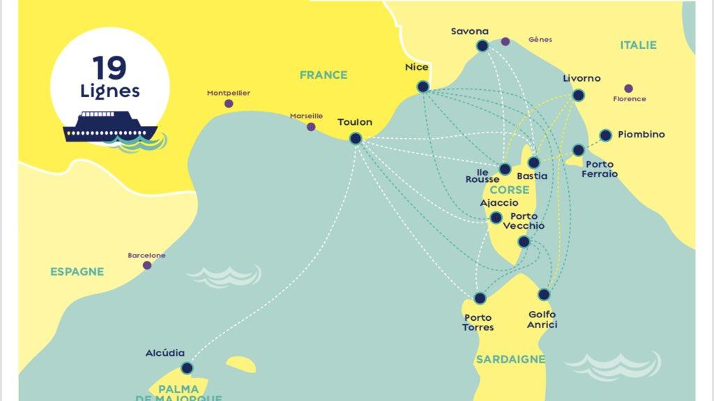 Carte Ferry Corse Italie.Corsica Ferries Reservez Toutes Les Traversees Sur Vivanoda